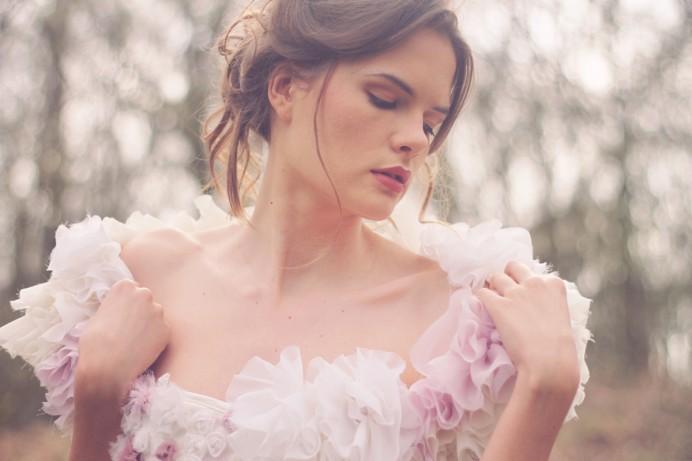 La robe de mariée Boudoir dans Coco Magazine