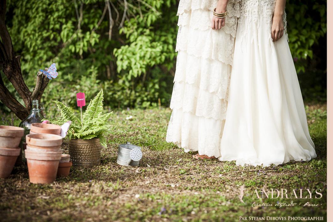Robe de mariée Bohème hippie chic mariage pour tous nantes
