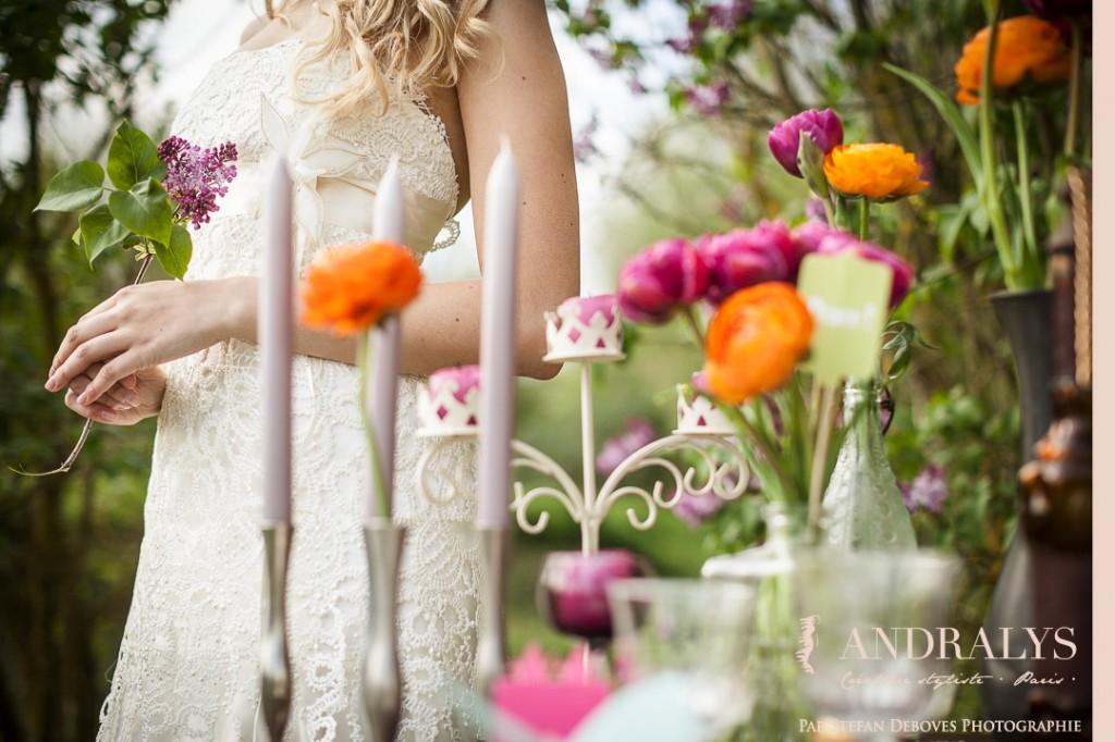 Robe de mariée bohème à Bordeaux