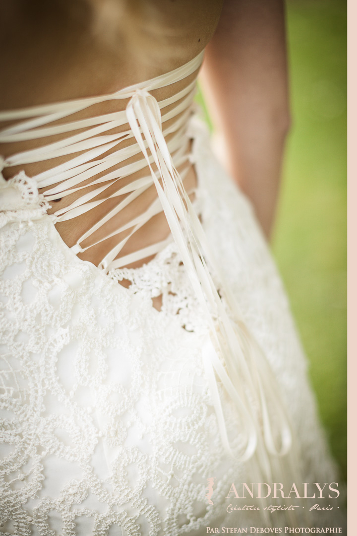 Robe de mariée Bohème hippie chic à Nantes