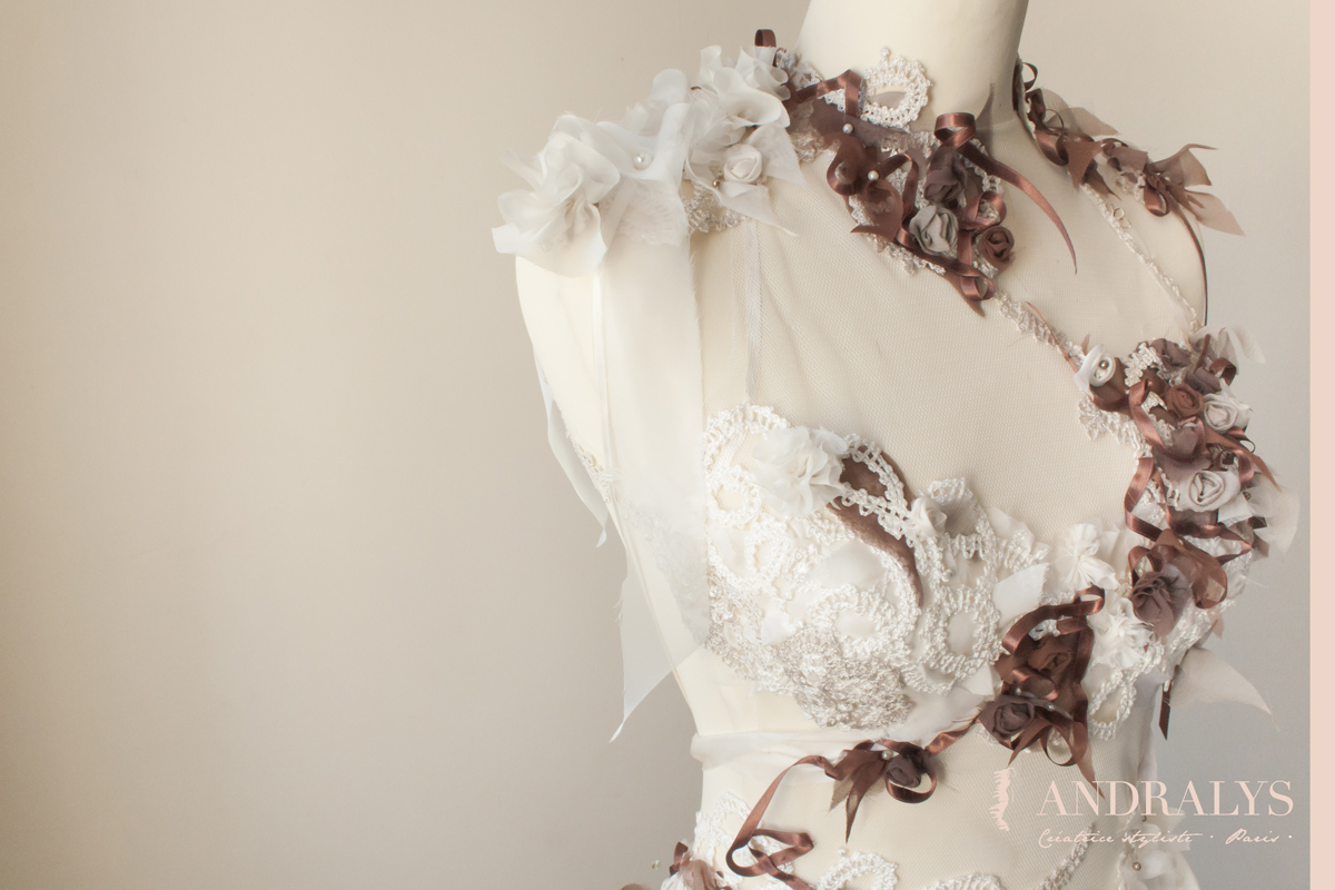 robe de mari e f erique dos nu bretagne. Black Bedroom Furniture Sets. Home Design Ideas
