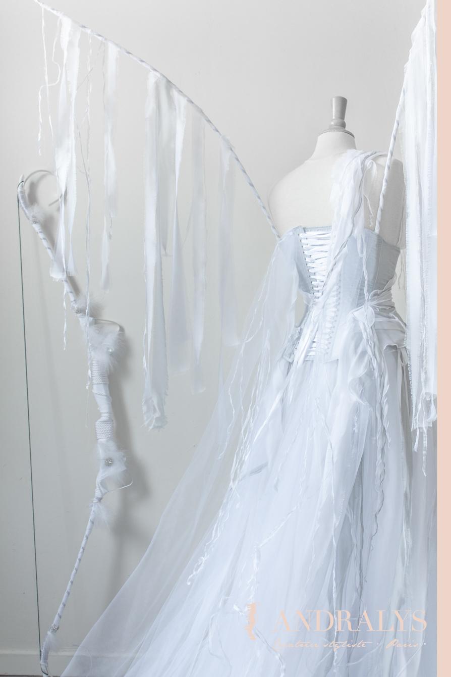 Robe de mariée féerique à Nantes
