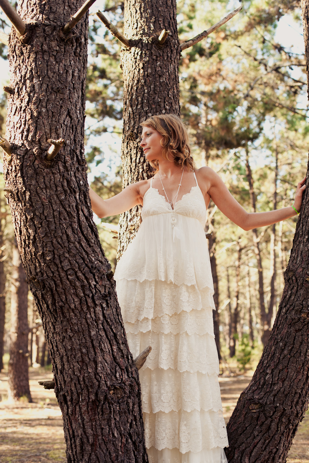 Mariage boh me un joli shooting inspiration part 2 andralys - Robe hippie chic mariage ...