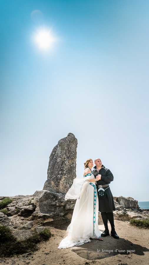 Robe de mariée celtique