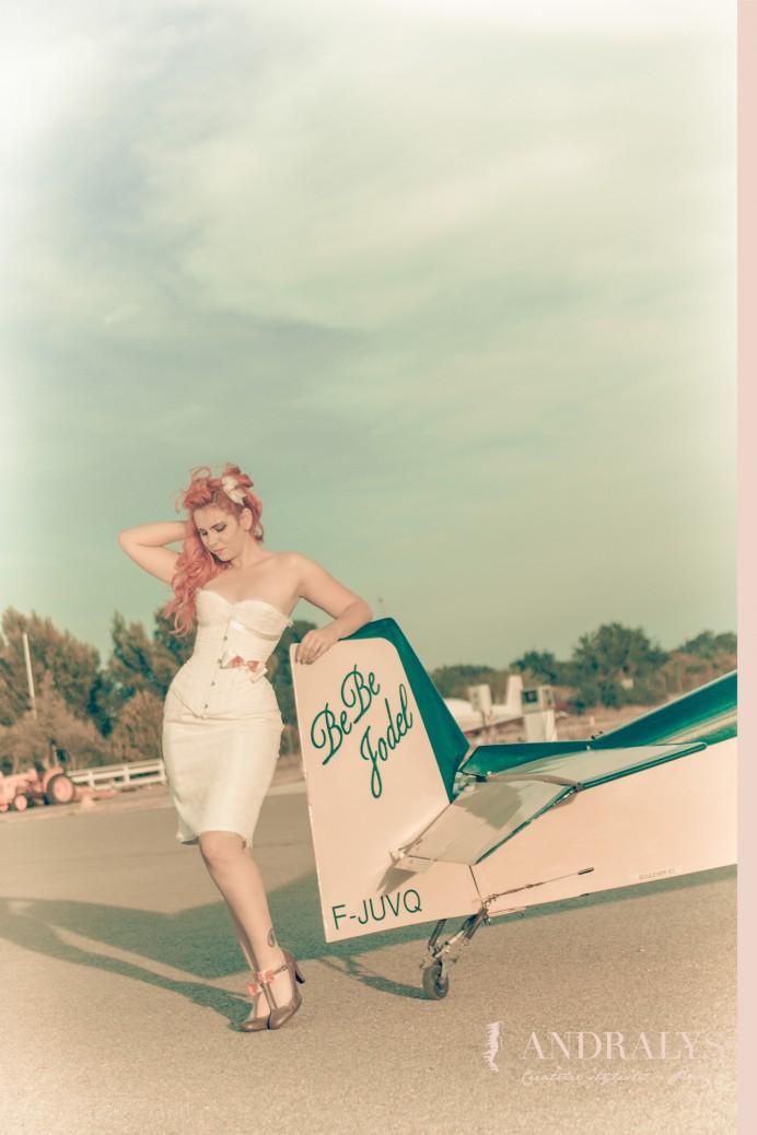 Robe de mariée années 50