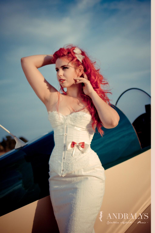 Robe de mariée années 50 Pin Up : Honey Baby