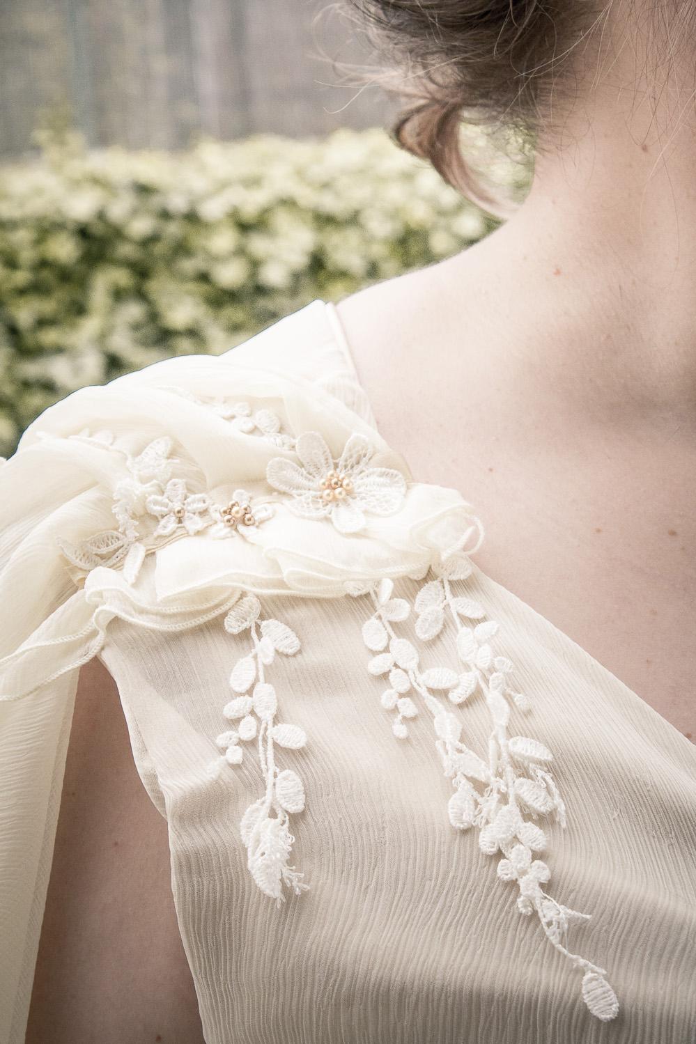 Robe de mariée irlandaise