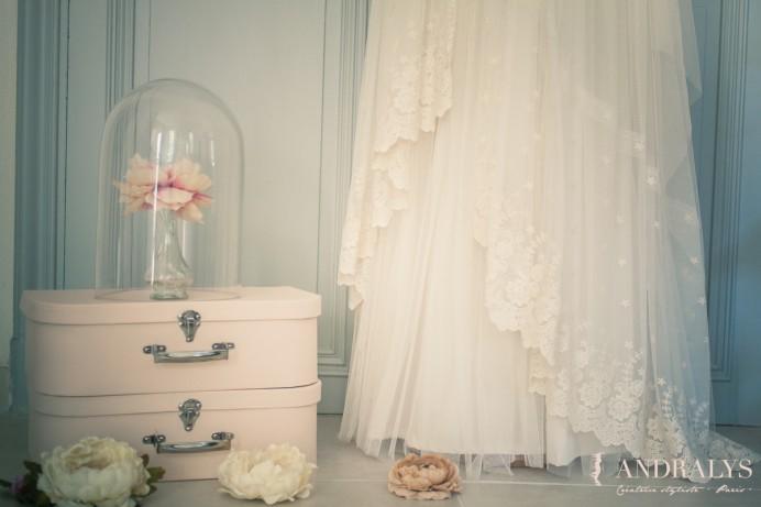 Robe de mariée Bohème Angélique