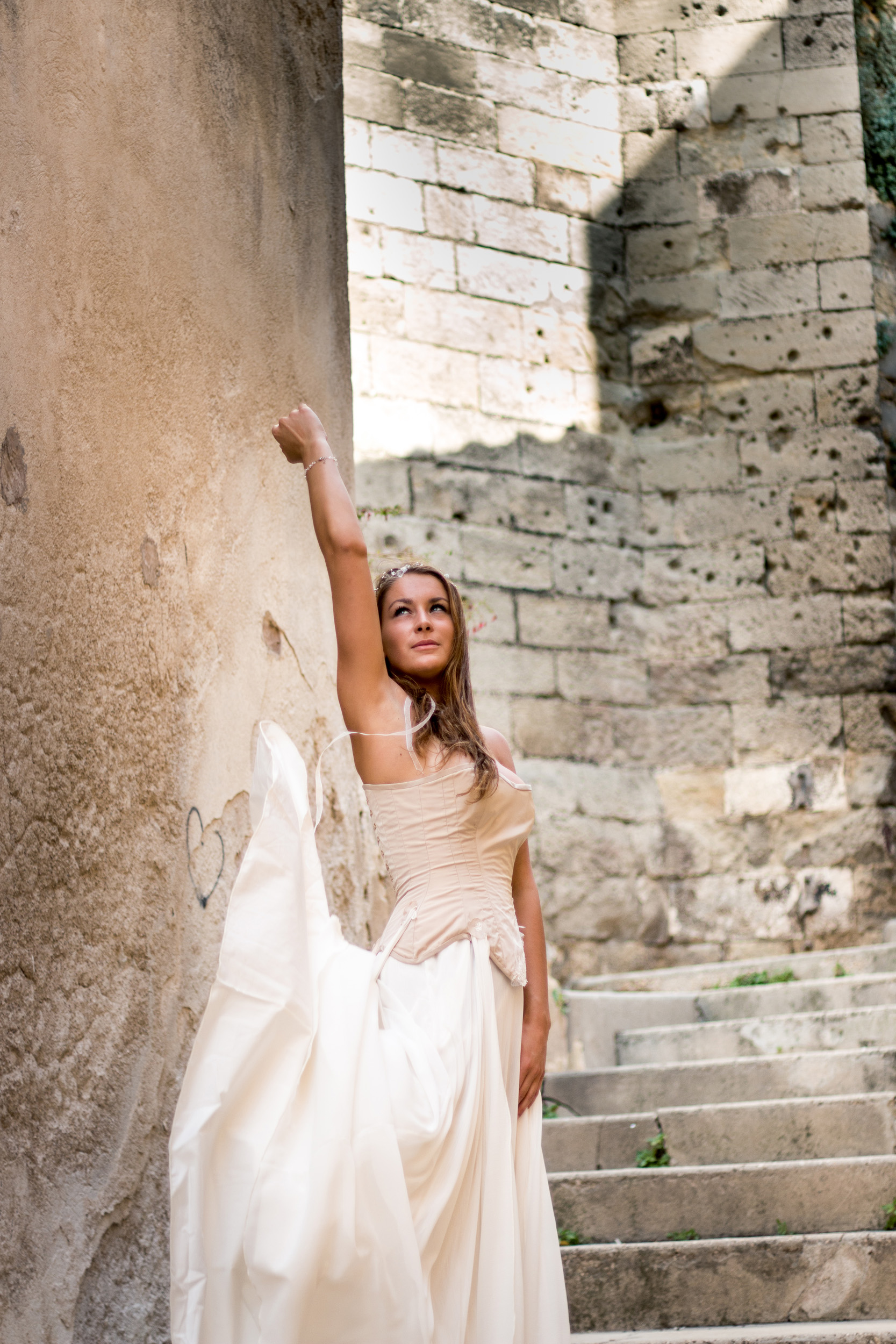 Robe de mariée corsetée Victorine