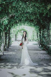 Robe de mariée Champêtre Masha - Sur-mesure - Bordeaux
