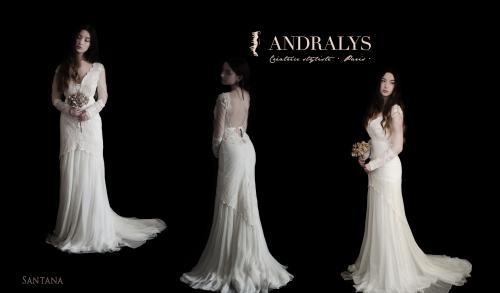 Robe de mariée bohème Santana