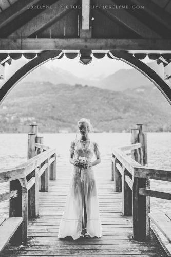 Robe de mariée rétro - vintage Madelyne (24 sur 74)