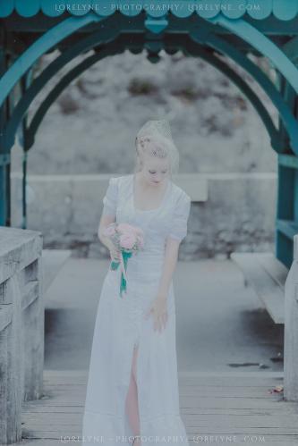 Robe de mariée rétro - vintage Madelyne (31 sur 74)