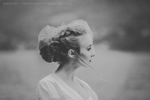Robe de mariée rétro - vintage Madelyne (38 sur 74)