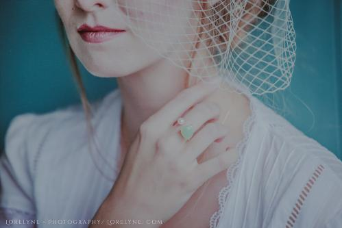 Robe de mariée rétro - vintage Madelyne (66 sur 74)