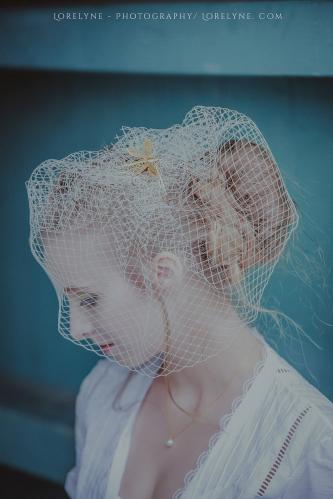Robe de mariée rétro - vintage Madelyne (68 sur 74)