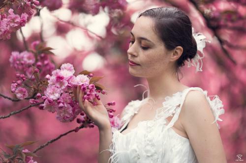 Robe de mariée romantique sur mesure - Bordeaux - Arcachon