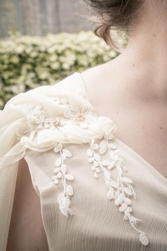 Robe de mariée empire  sur mesure - Bordeaux - Arcachon