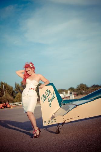 Robe de mariée pin up - années 50