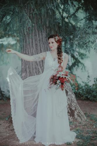Robe de mariée bohème - champêtre Rayfi (23 sur 85)