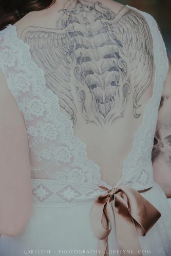 Robe de mariée bohème - champêtre Rayfi (28 sur 85)