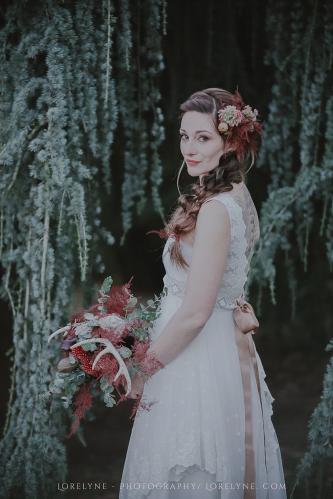 Robe de mariée bohème - champêtre Rayfi (72 sur 85)