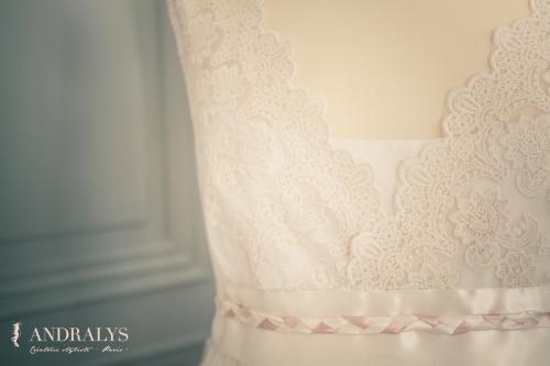 Robe de mariée bohème sur mesure - Bordeaux - Arcachon