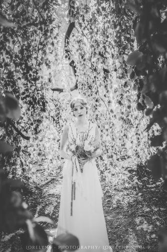 Robe de mariée bohème champêtre Bordeaux Arcachon 05
