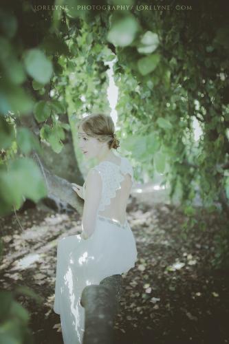 Robe de mariée bohème champêtre Bordeaux Arcachon 09