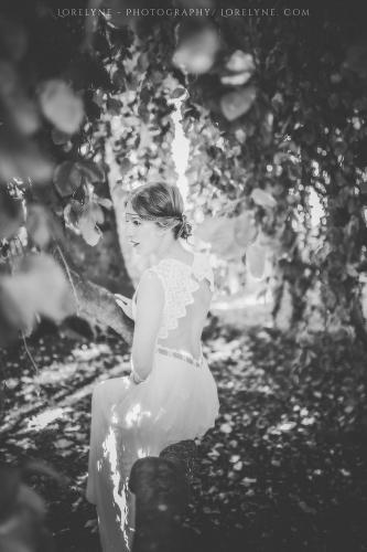 Robe de mariée bohème champêtre Bordeaux Arcachon 10