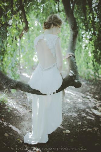 Robe de mariée bohème champêtre Bordeaux Arcachon 11