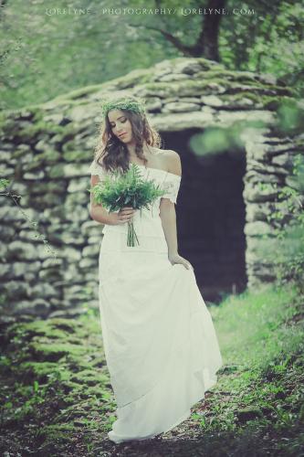 Robe de mariée champêtre Alice 04