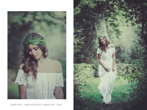Robe de mariée bohème - champêtre Alice