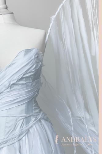 Robe de mariée féerique elfique Bordeaux Arcachon 02