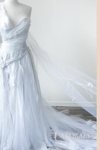 Robe de mariée féerique elfique Bordeaux Arcachon 04