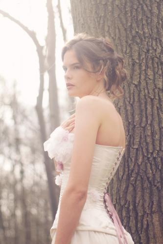 Robe de mariée rétro boudoir 03