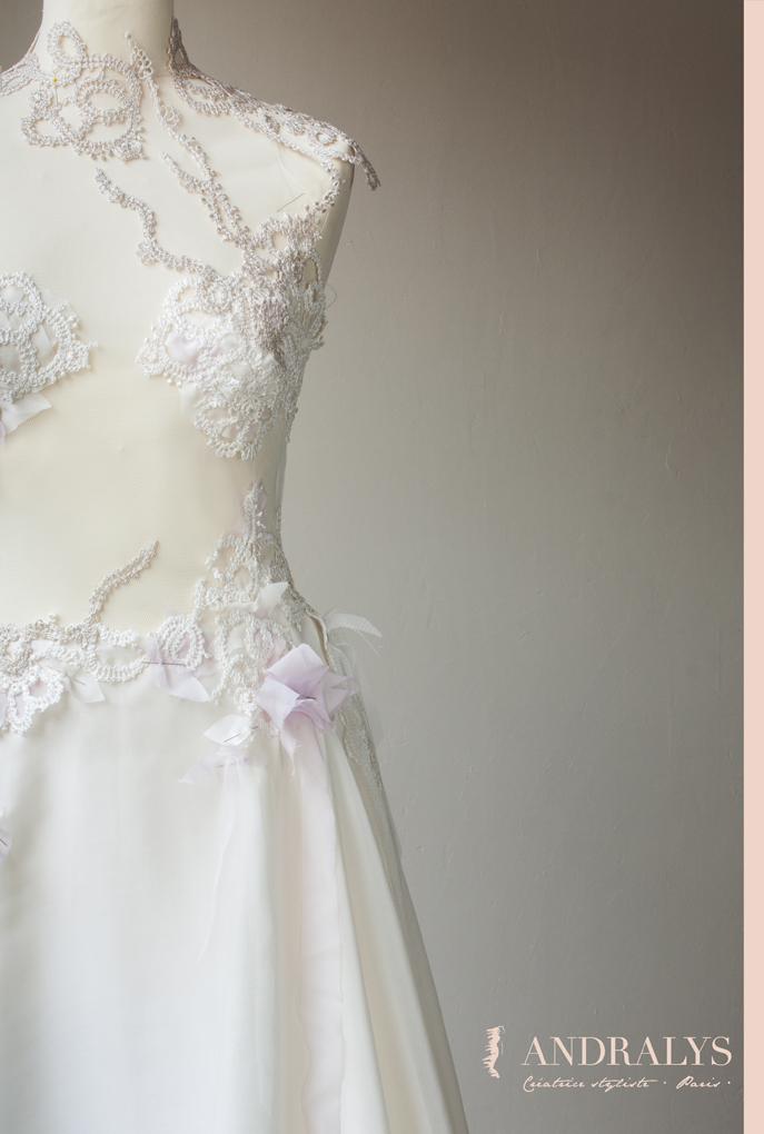 Robe de mariée haute couture