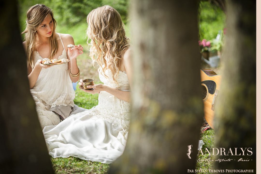 bohemian wedding dress Nantes 44 loire atlantique