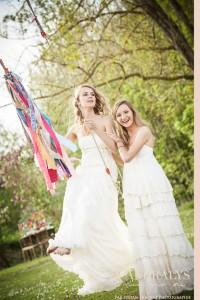 Robe de mariée Bohème hippie chic mariage pour tous
