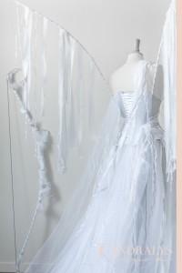 Robe de mariée féerique sur-mesure à Bordeaux