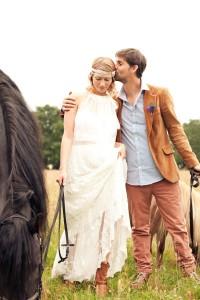 shooting inspiration mariage boheme
