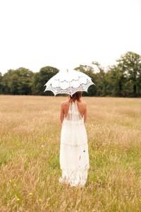 Robe de mariée Bohème champêtre