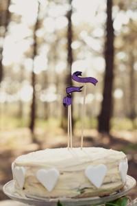 Wedding cake pour mariage bohème