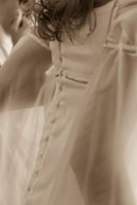 Robe de mariée elfique sur-mesure Bordeaux