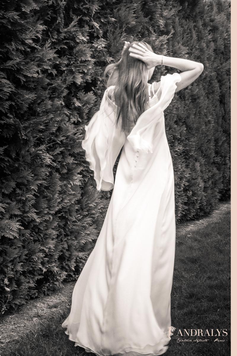 Robe de mariée elfique
