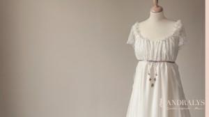 Robe de mariée Empire 2014