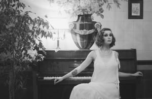 Robe de mariée années 20