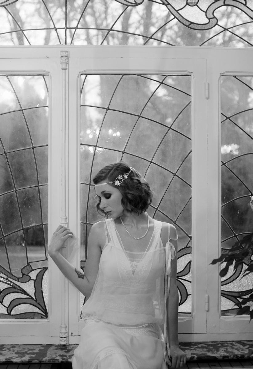 Robe de mariée années 20 sur mesure
