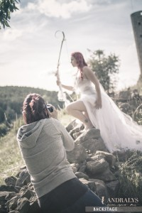 Shooting photo féerique Andralys et Mystik Photography
