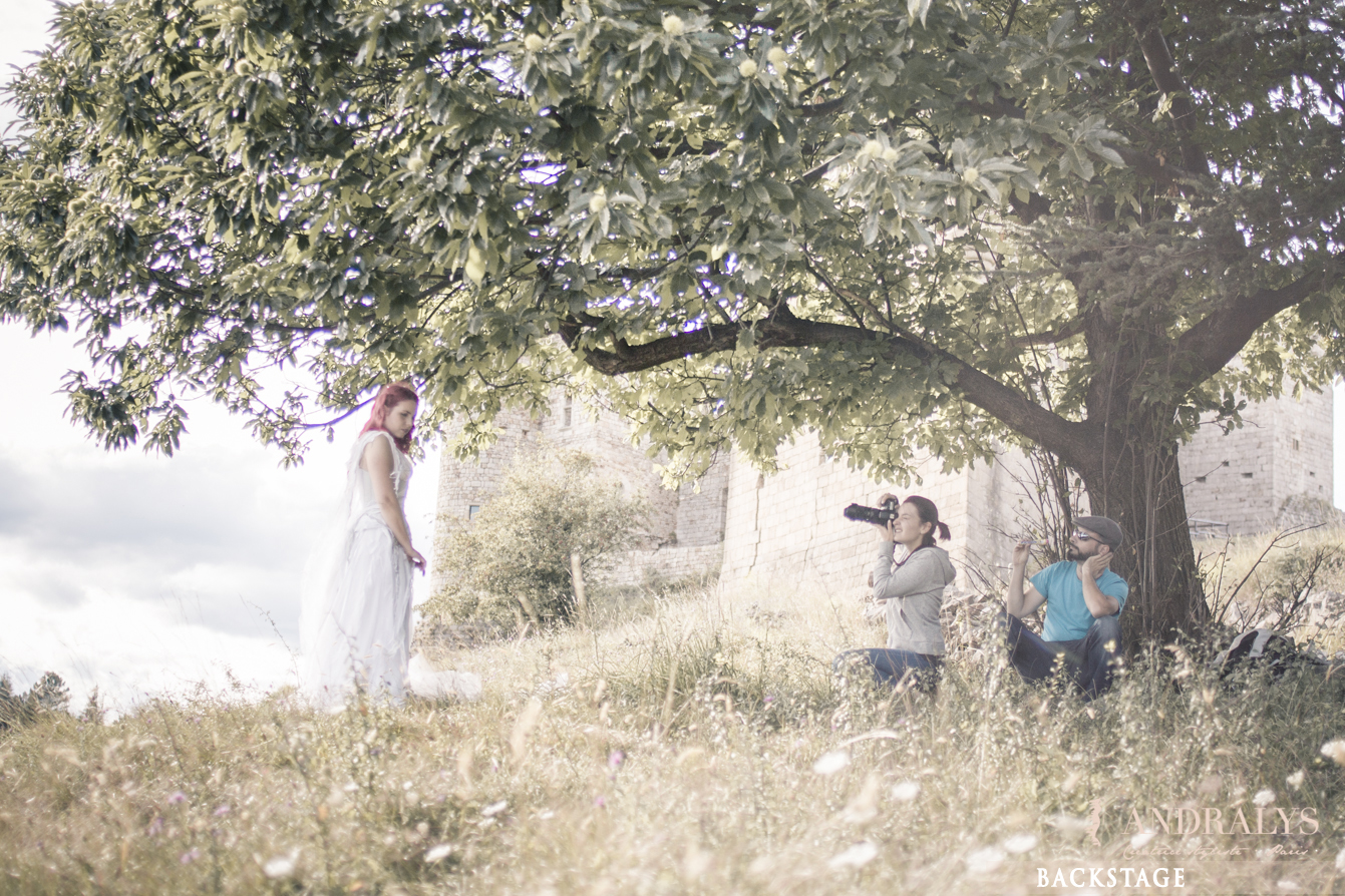Shooting photo féerique Andralys et Mystik Photography